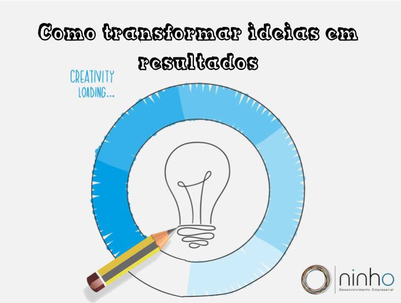 Transformar ideias em resultad